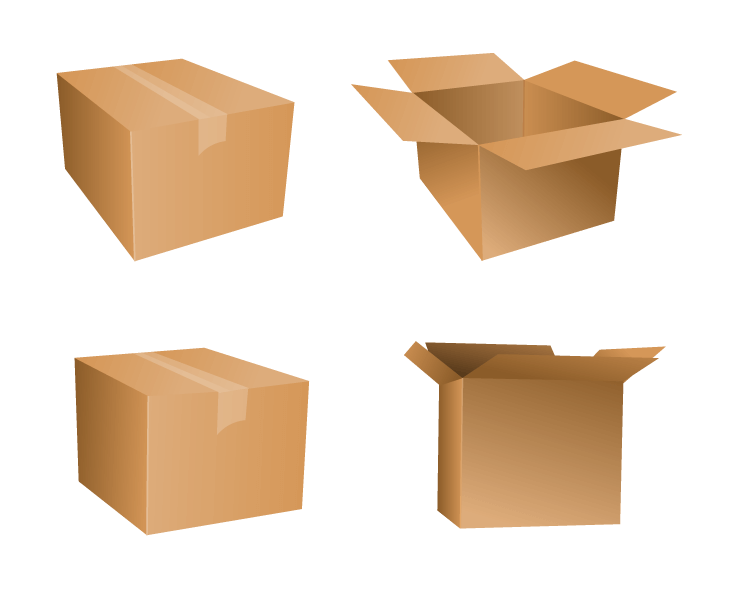 Boxes appearance