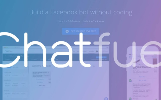 Chatfuel as Your Bot Building Platform