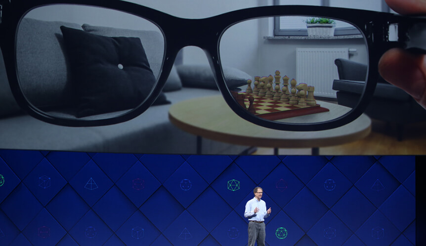 Facebook AI-powered Glasses