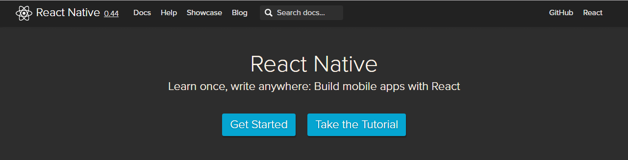 ReactNative framework