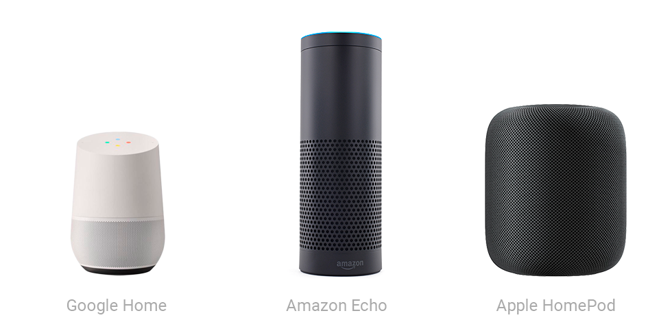 Voice activated speakers