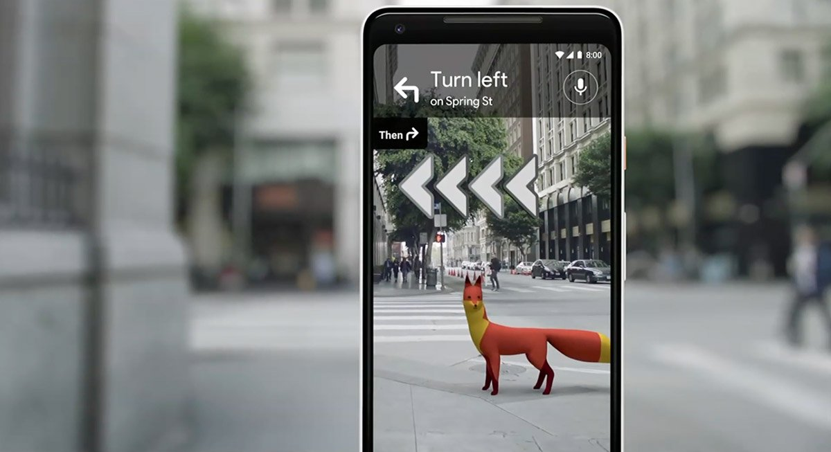 Augmented Reality in Google Maps