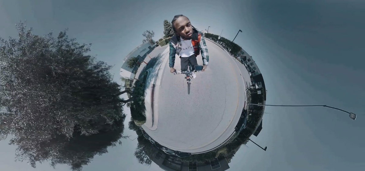 360-degree video