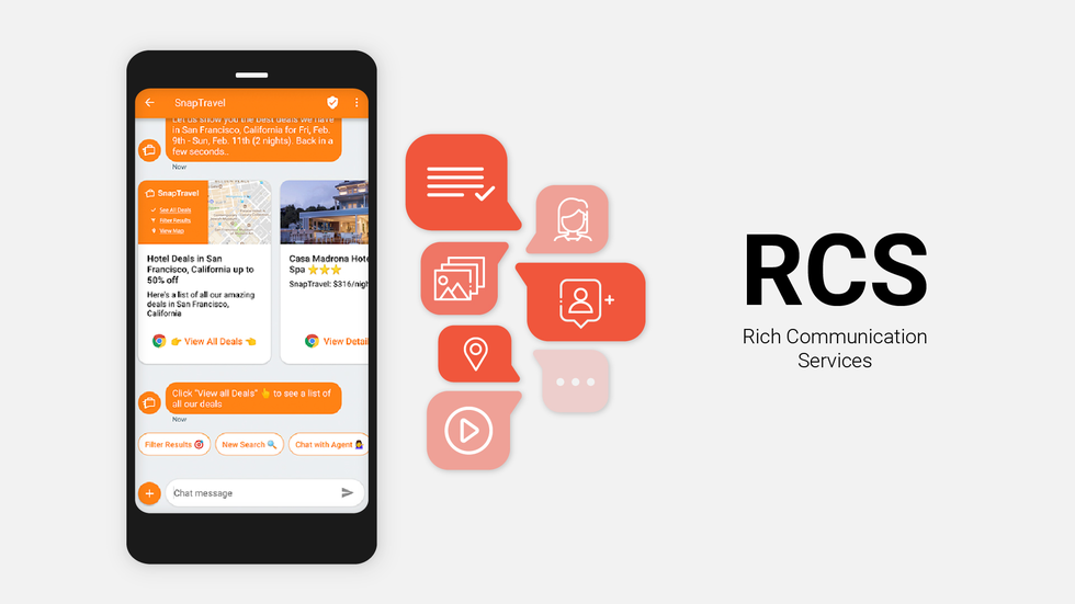 rich communication services (rcs) messaging
