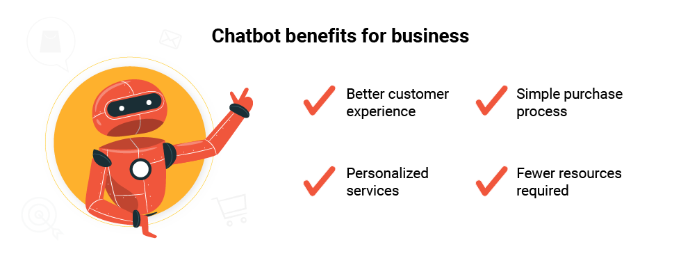 Benefits of using chatbots for your e-commerce business